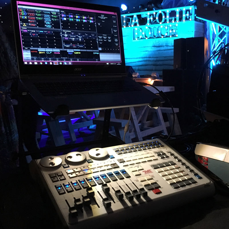 Lighting Control Desk