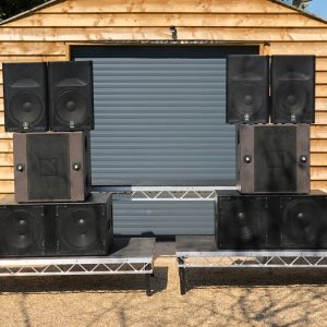 Venom Opera PA System Stacks By Go-DJ