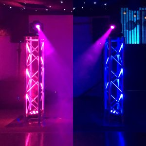 Twin Podium Package By Go-DJ