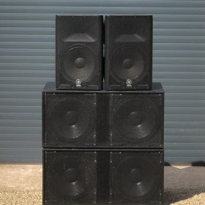 Venom Compact PA System Stack